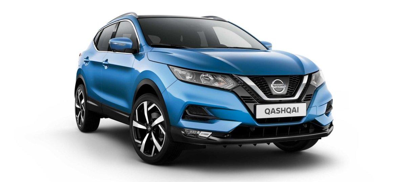Nissan Qashqai blue - massymotors.com
