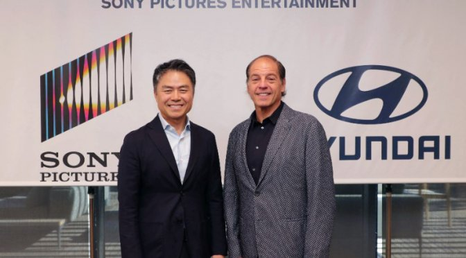 Hyundai Strategic Partnership with Sony pictures Entertainment - massymotors.com